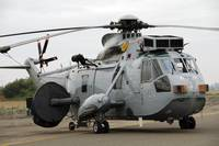Sea King Helicopter of the Royal Navy