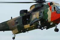 The Sea King Helicopter in use by the Belgian Air