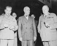 Joseph Stalin, Harry Truman and Winston Churchill