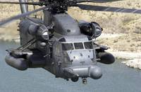 A MH53J Pave Low IIIE heavylift helicopter