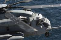 A US Marine Corps CH53E Super Stallion helicopter