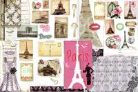 Paris Mood Board, by Lisa Casineau