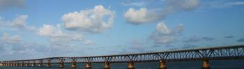 The Old Railway Bridge To Key West