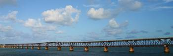 Old Railway Bridge To Key West