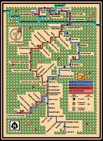 Pittsburgh LRT T Map