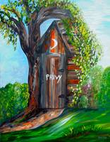 Outhouse - Privy - The Old Outhouse