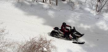 Snowmobiling in the Adirondacks