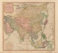 Vintage Map of Asia (1799)