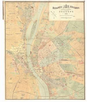 Vintage Map Of Budapest Hungary By Alleycatshirts Zazzle - Vintage budapest map