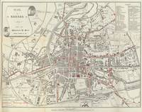 Vintage Map of Rennes France (1905)
