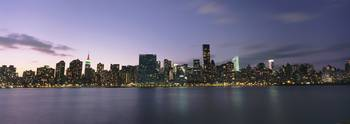 Manhattan Island Viewed From Long Island City At D