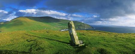 Ogham Stone, Dunmore Head, Dingle Peninsula, Count