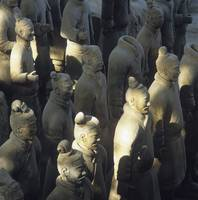 Terracotta Warriors, Close Up Shanghai, China