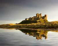 Bamburgh Castle Bamborough, Northumberland, Engla