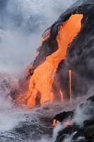 Hawaii, Big Island, Near Kalapana, Pahoehoe Lava F