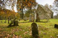 Ruins Of Church And Graveyard, Argyl And Bute, Sco
