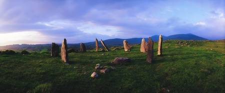 Stone Circle in County Kerry, Ireland