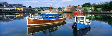 Boats in a Harbour, Kinsale, County Cork, Ireland