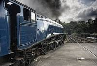 Sir Nigel Gresley Train At Grosmont North Yorkshi