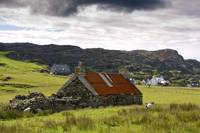 Stone Farmhouse And Surrounding Field, Isle Of Col