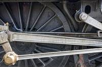 Connecting Rods Of Sir Nigel Gresley Steam Locomot