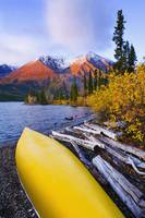Kathleen Lake And Mountains, Kluane National Park