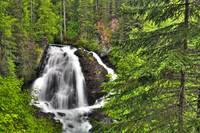 South Fork Eagle River Falls near Eagle River, Sou