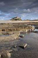 Bamburgh Castle In The Distance, Bamburgh, Northum