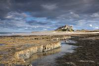 A View Of Bamburgh Castle, Bamburgh, Northumberlan