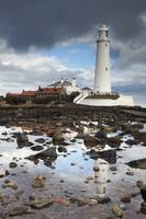 St. Mary's Lighthouse, Whitley Bay, Northumberlan