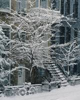 Drolet Street In Winter, Montreal, Quebec, Canada