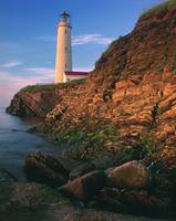Lighthouse, Gaspesie Region, Cap-Des-Rosiers, Queb