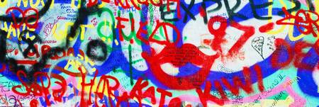 Graffiti On The U2 Wall, Windmill Lane, Dublin, Ir