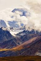 Mount Mather, Alaska Range, Denali National Park,