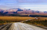 Dempster Highway And Richardson Mountains, Yukon