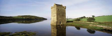 Rockfleet Castle, Clew Bay, County Mayo, Ireland