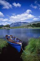 Fishing Boat On Upper Lake, Killarney National Par