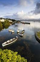 Fishing Boats In Roundstone Harbour, County Galway