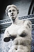 Statue Of Venus De Milo, Louvre, Paris, France
