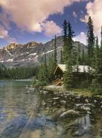 Cabin At Lake O'hara Lodge, Yoho National Park, B