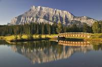 Mount Rundle And Cascade Ponds, Banff National Par