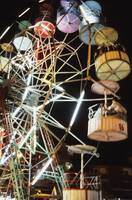 Ferris Wheel At Fairground