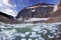 Mt. Edith Cavell And Angel Glacier, Jasper Nationa