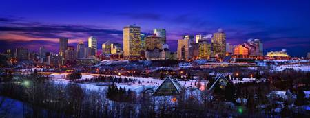 Edmonton Winter Skyline