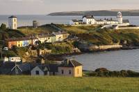 Roches Point Lighthouse In Cork Harbour In Munster