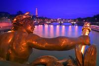 Pont Alexandre Iii And Cityscape Paris France, Par