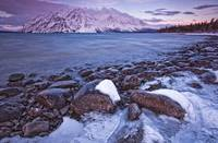 Kathleen Lake At Sunrise, Kluane National Park, Yu