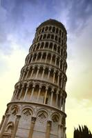 The Leaning Tower Of Pisa Tuscany Italy