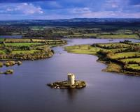 Cloughoughter Castle, County Cavan, Ireland, Aeria