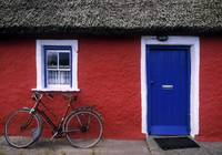 Askeaton, Co Limerick, Ireland, Bicycle In Front O